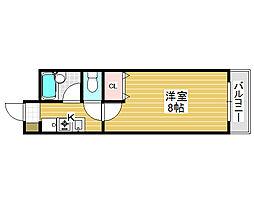 サカイ東ビル[4階]の間取り