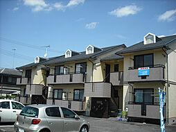 滋賀県大津市月輪2丁目の賃貸アパートの外観