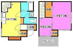 [一戸建] 埼玉県新座市新堀2丁目 の賃貸【/】の間取り