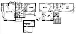 [一戸建] 東京都練馬区春日町2丁目 の賃貸【/】の間取り