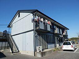 茨城県龍ケ崎市馴馬町の賃貸アパートの外観