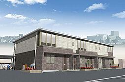 中冨居賃貸アパート新築工事[1階]の外観