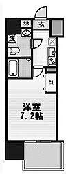 大阪府大阪市西区川口4丁目の賃貸マンションの間取り