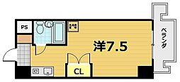 サンヒルズハウス[6階]の間取り