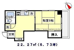 プチメゾンド榎本[6階]の間取り