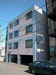 北海道札幌市白石区栄通16丁目の賃貸マンションの外観