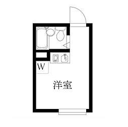 ラ・セゾンプランタン[3階]の間取り