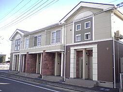 群馬県高崎市上豊岡町の賃貸アパートの外観