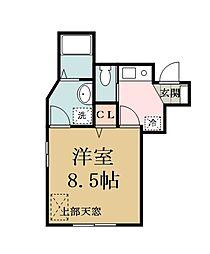 (仮称)新築谷塚町アパート[103号室]の間取り
