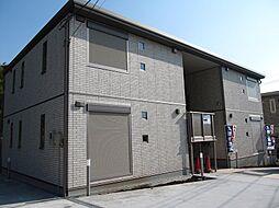 神奈川県横浜市青葉区大場町の賃貸アパートの外観
