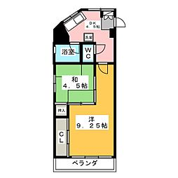 仲村ビル[3階]の間取り