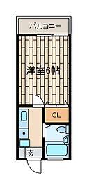 孝友第6ビルグリーンハイツ麻生[1階]の間取り