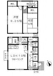 [テラスハウス] 東京都杉並区清水2丁目 の賃貸【/】の間取り