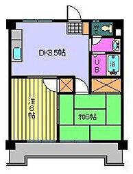 SAKURA HOUSE[302 号室号室]の間取り