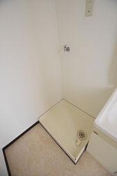 リジェール21の室内洗濯機置き場