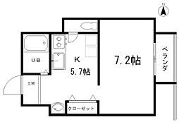 リビングVI[4階]の間取り