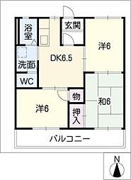 メゾン萩山[2階]の間取り
