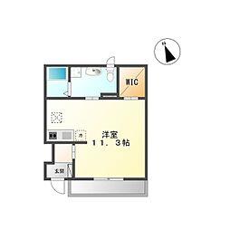 Y's square92(ワイズスクエア92)[102号室]の間取り