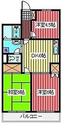 シミュレーINAGAKI[3階]の間取り