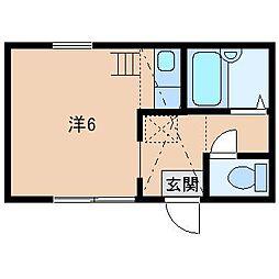 SACHI365[2階]の間取り