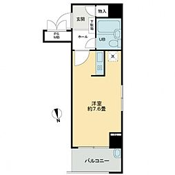 ライオンズマンション上六第2[5階]の間取り