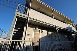埼玉県越谷市東越谷3丁目の賃貸アパートの外観