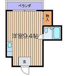 NY・DUO[4階]の間取り