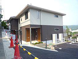 兵庫県川西市矢問1丁目の賃貸アパートの外観