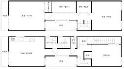 [一戸建] 兵庫県神戸市須磨区南町1丁目 の賃貸【/】の間取り