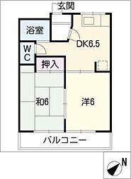 柳ヶ丘レジデンスA・B[2階]の間取り
