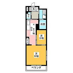 LEXUSいいづか[2階]の間取り
