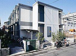 東京都葛飾区水元1の賃貸アパートの外観
