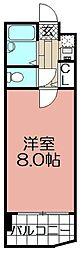 グランディール平尾山荘[502号室]の間取り