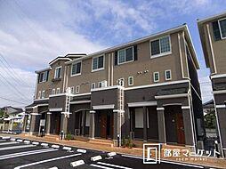 愛知県みよし市三好町下畷の賃貸アパートの外観