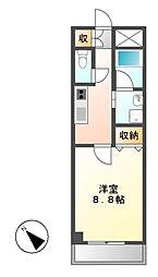 CASSIA大曽根(旧アーデン大曽根)[9階]の間取り