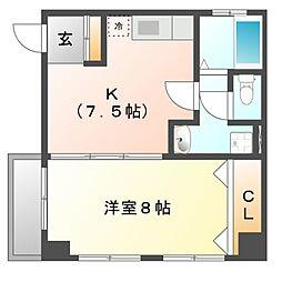 第二加藤ビル[3階]の間取り