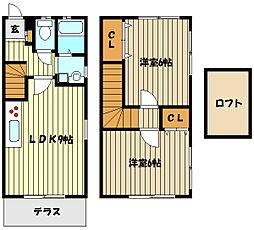 [テラスハウス] 兵庫県神戸市東灘区甲南町4丁目 の賃貸【/】の間取り