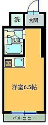 千葉県松戸市栄町5丁目の賃貸マンションの間取り