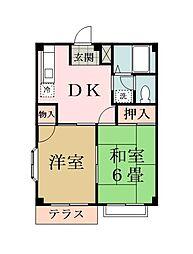 埼玉県八潮市大字浮塚の賃貸マンションの間取り