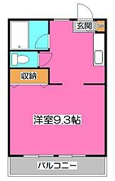 KMコート[3階]の間取り