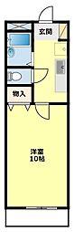 愛知県豊田市昭和町3丁目の賃貸マンションの間取り
