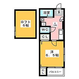 イル・グラッツィア博多駅東II[2階]の間取り