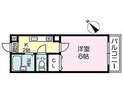 フェルシアIDO[4階]の間取り