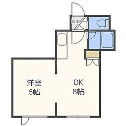 キラメック森・夢[3階]の間取り