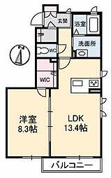 仮)ガーデンズK B棟[1階]の間取り
