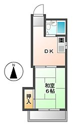 八田さかえビル[3階]の間取り