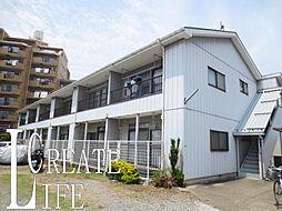 埼玉県さいたま市南区関2丁目の賃貸アパートの外観