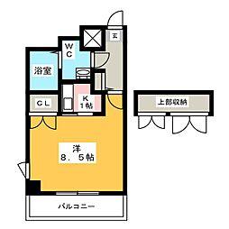 プリメール箱崎II[5階]の間取り