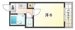 メゾンかなめ[5階]の間取り