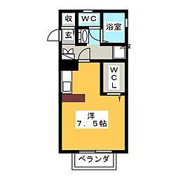 BELLAIR ANNEX[2階]の間取り
